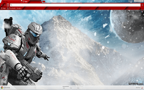 Free Halo 5 Google Chrome Theme