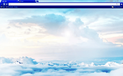 Free Heaven Google Chrome Theme