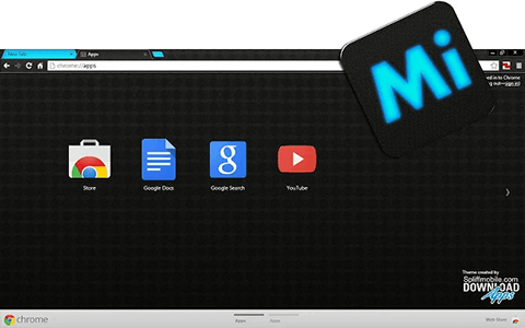 Free Mypro SkyBlue Google Chrome Theme