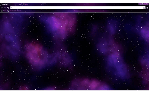 Free Nebula Google Chrome Theme