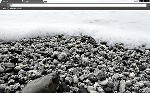 Free Pebble Beach Google Chrome Theme