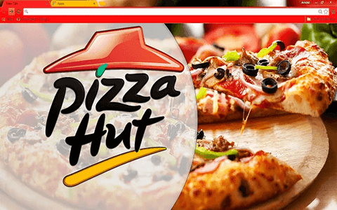 Free Pizza Hut Google Chrome Theme