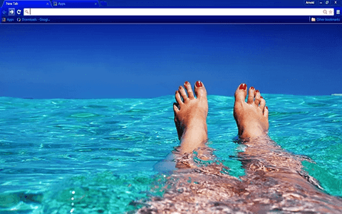 Free Relax Google Chrome Theme
