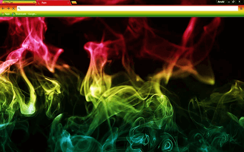 Free Smoke Google Chrome Theme