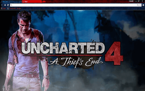 Free Uncharted 4 Thief's End Google Chrome Theme