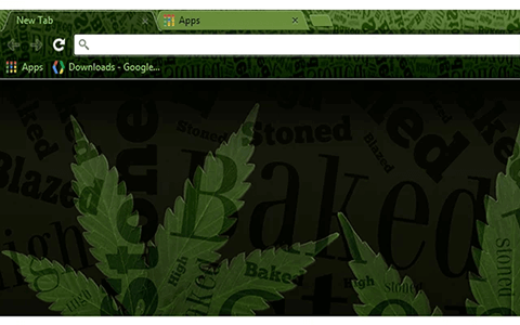 Free Weed Stoner Google Chrome Theme