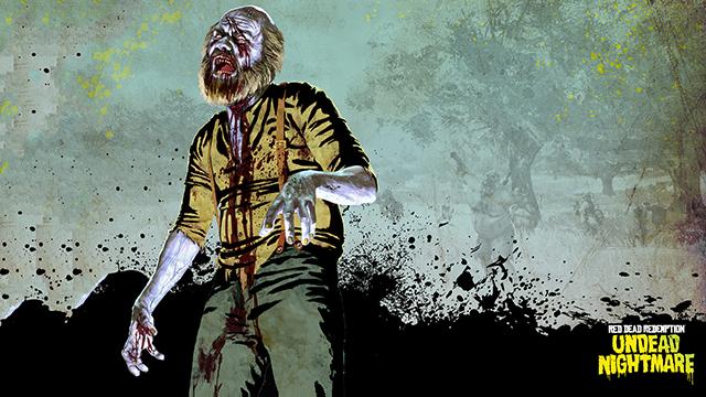 RDR Zombie Uncle - 4K Wallpaper