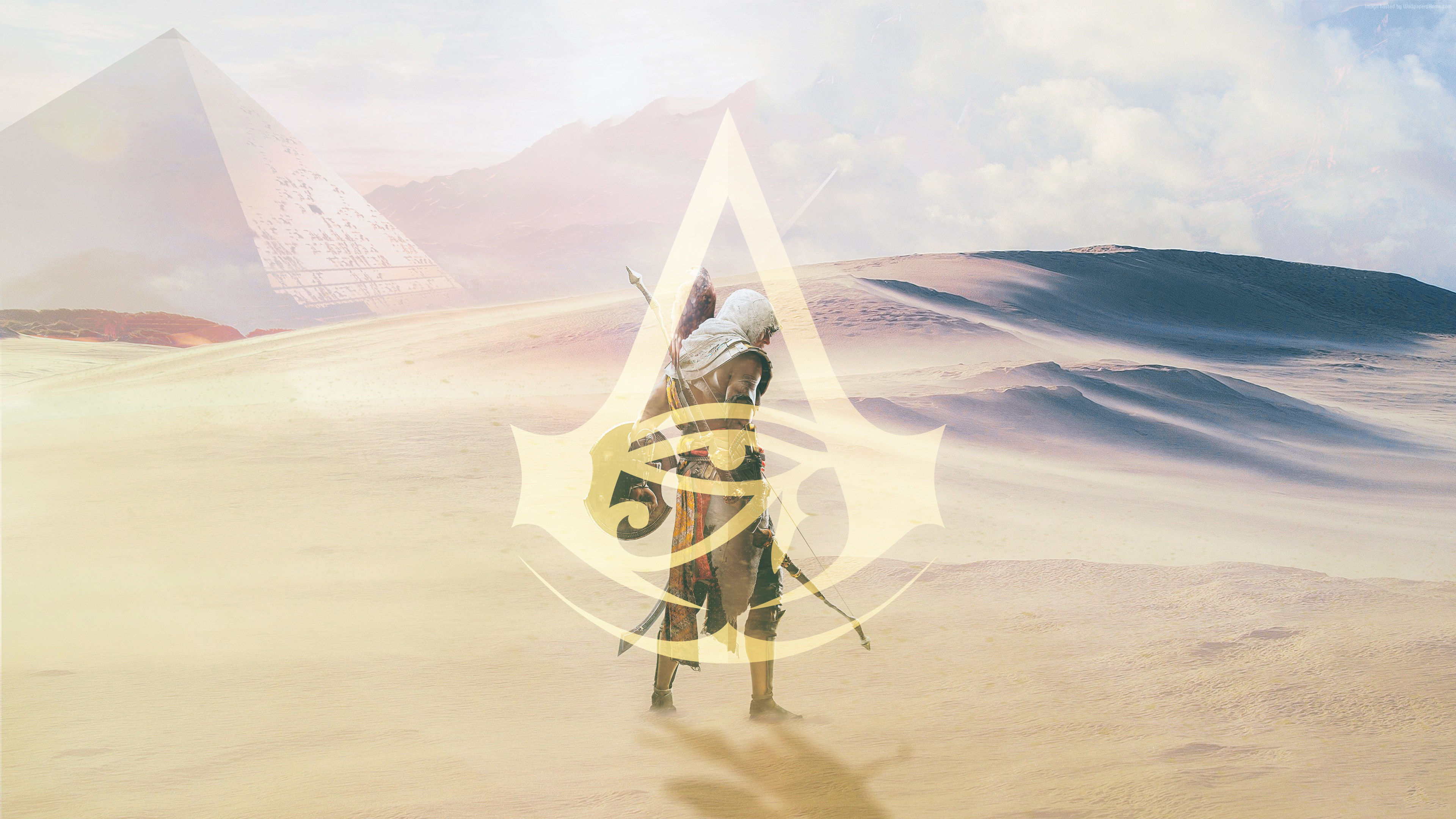 Assassins Creed Origins Chromebook Wallpaper