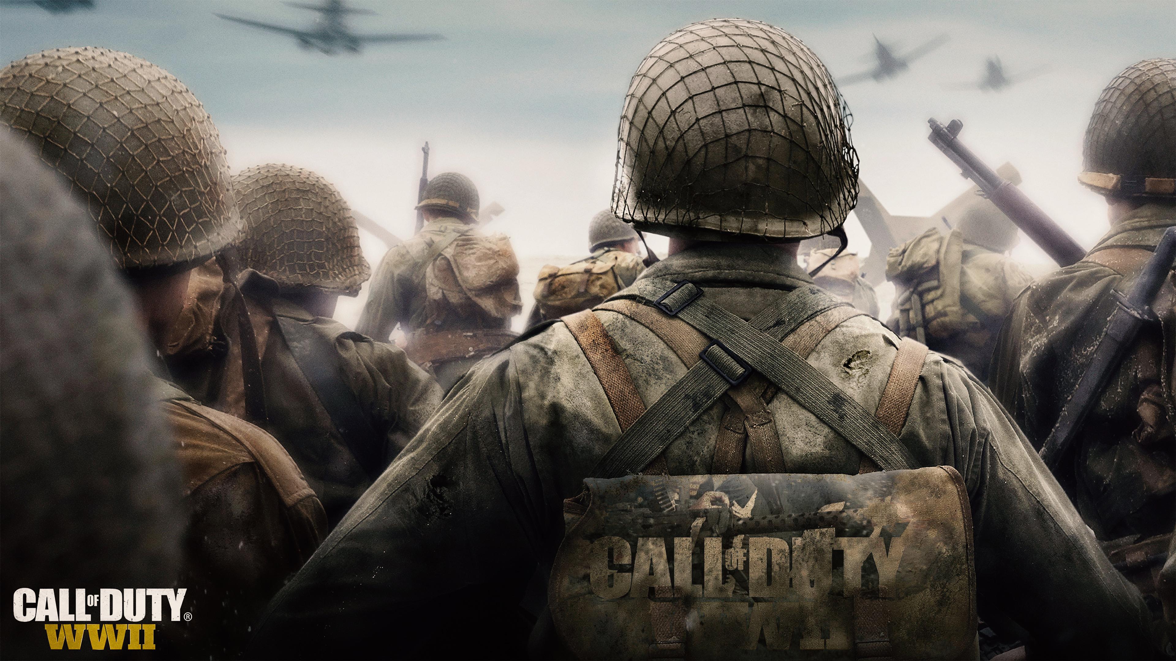 Call Of Duty World War 2 Chromebook Wallpaper