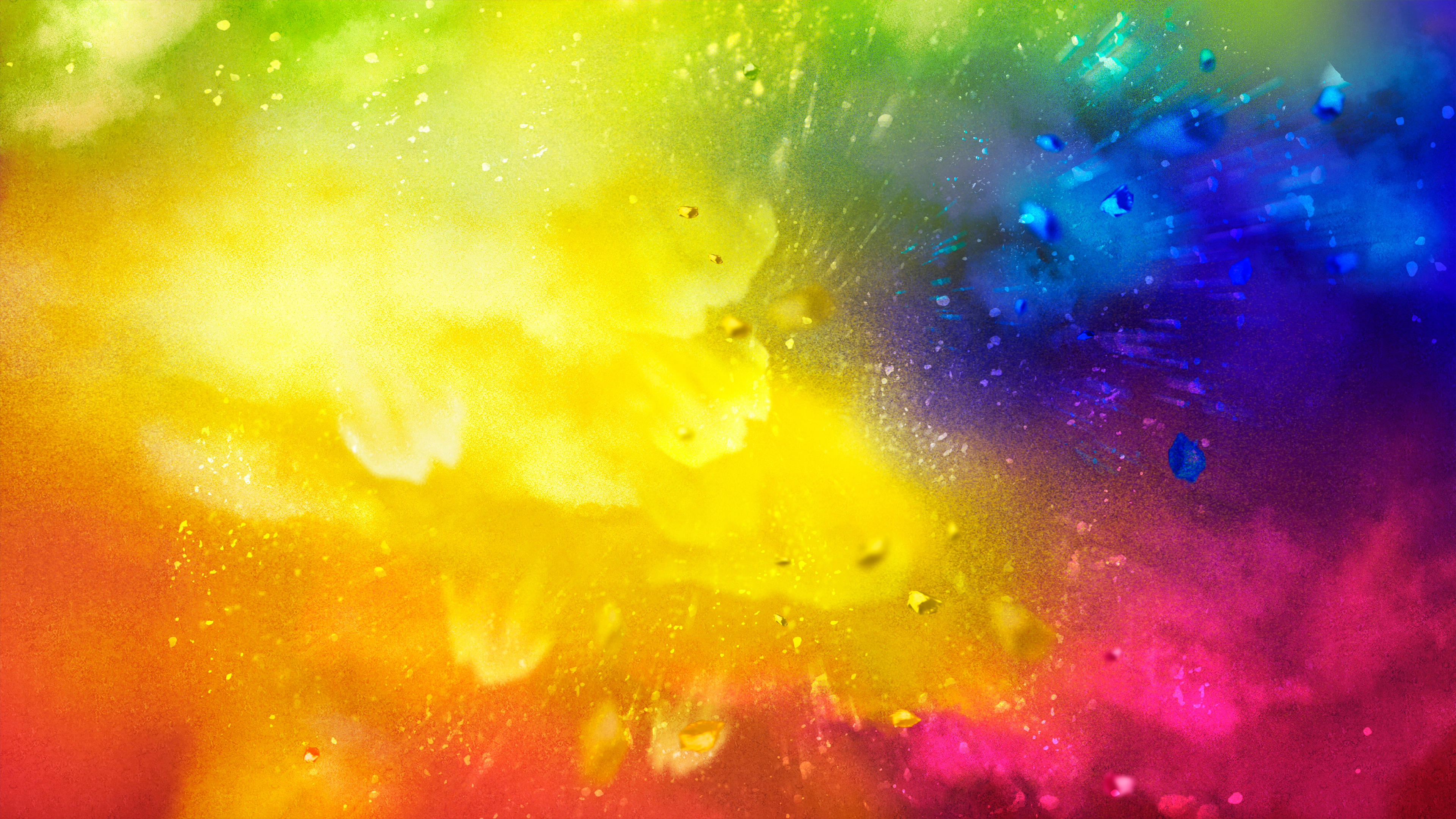 Holi Splash Chromebook Wallpaper