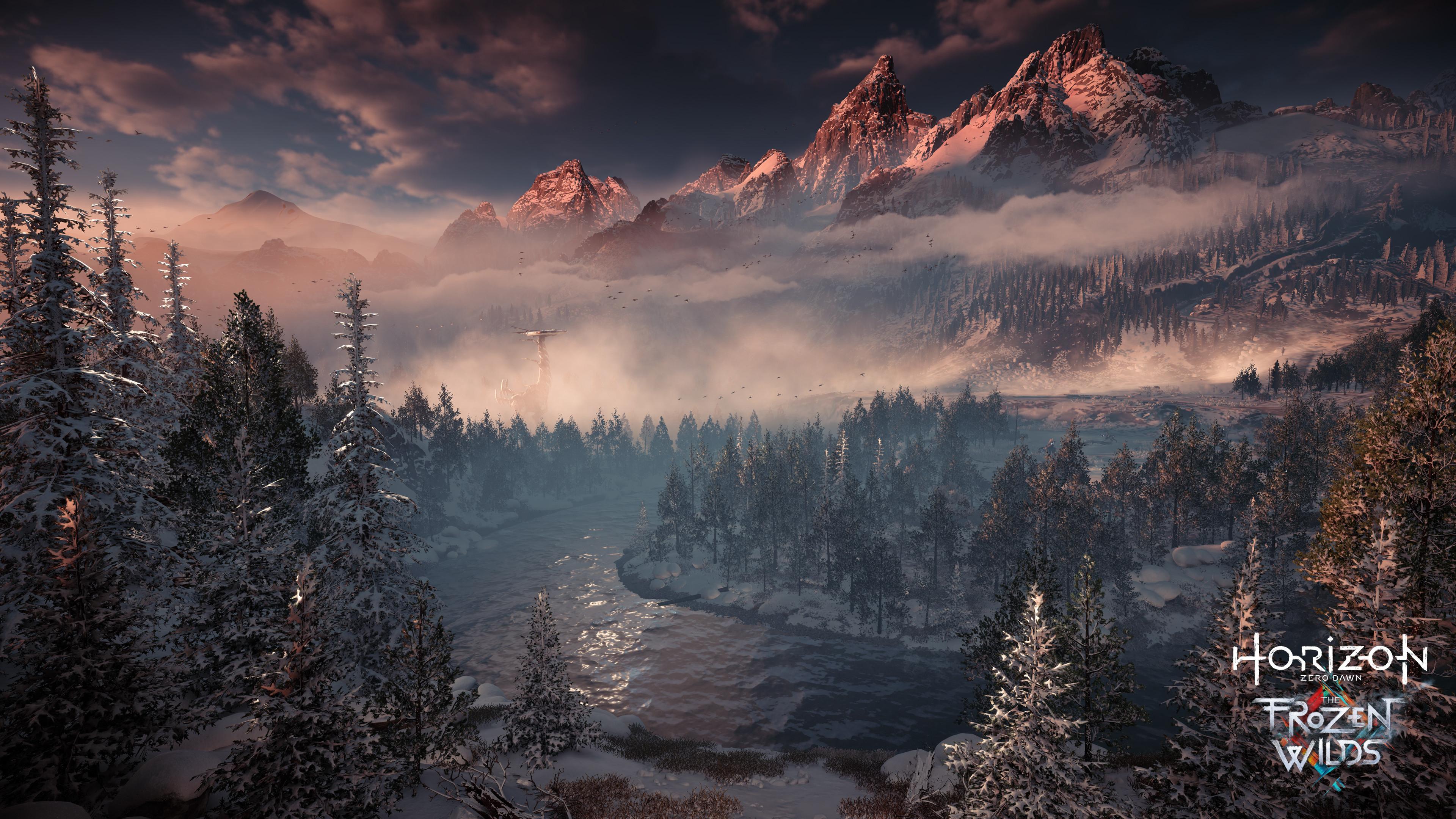 Horizon Zero Dawn The Frozen Wilds Chromebook Wallpaper