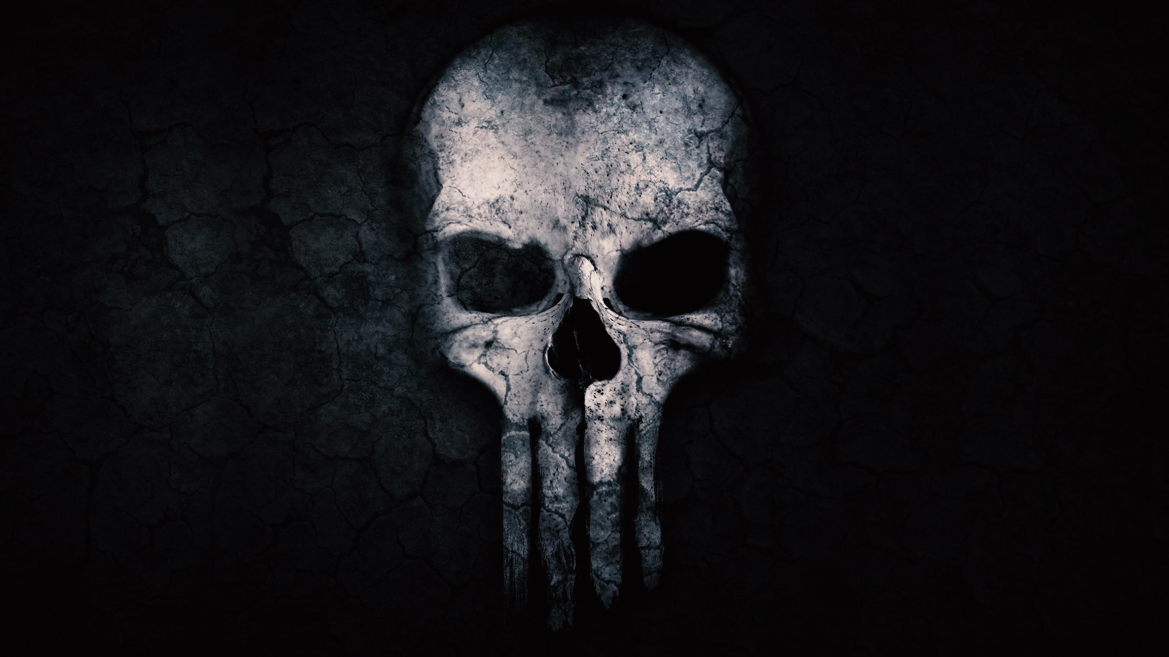Free Punisher Skull Chromebook Wallpaper Ready For Download
