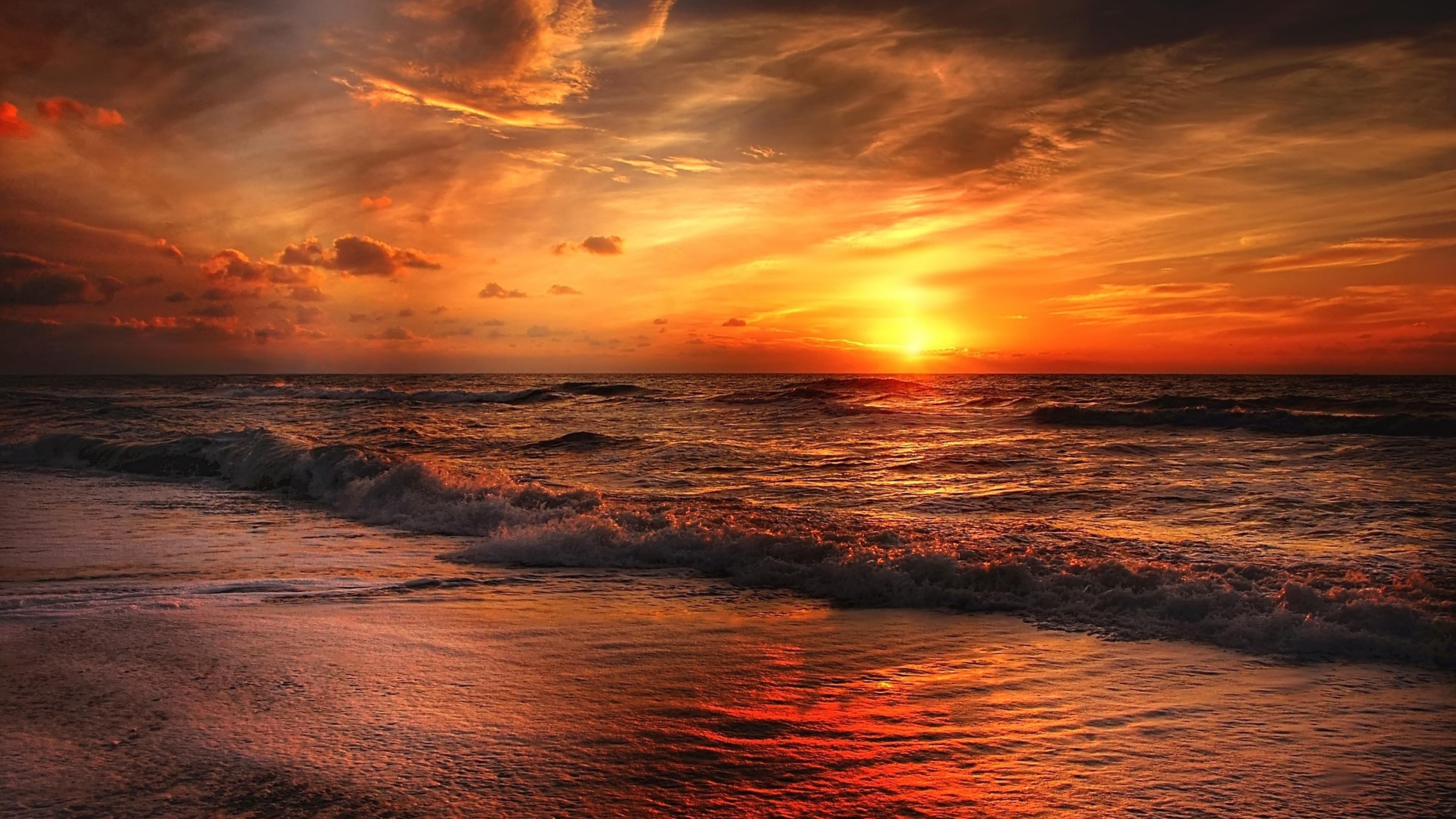 Sunset Bay Chromebook Wallpaper