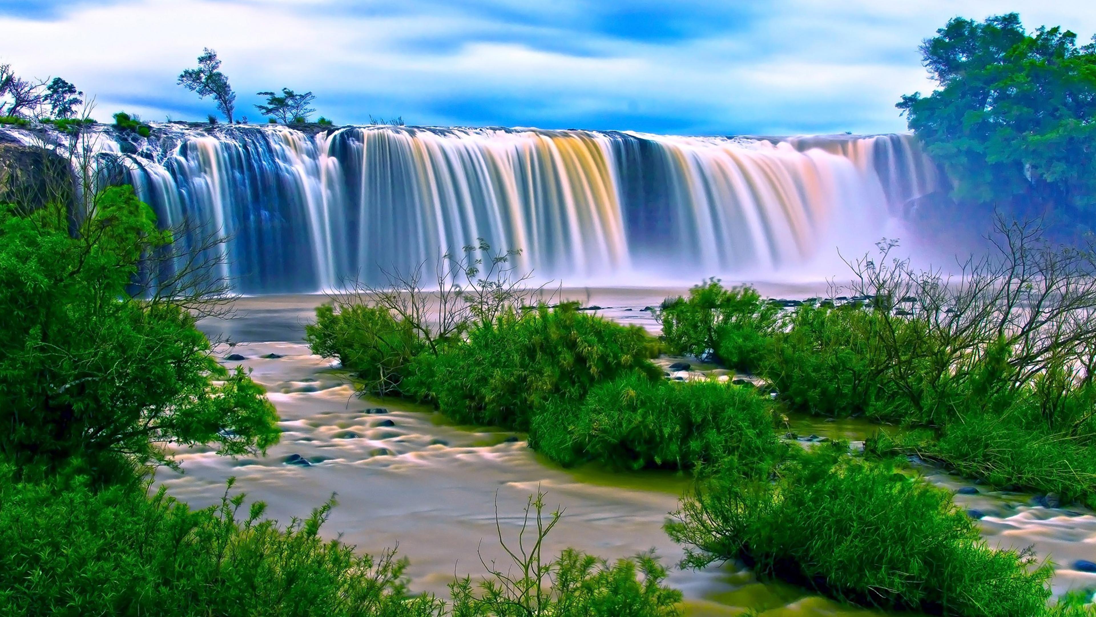 Waterfall Chromebook Wallpaper