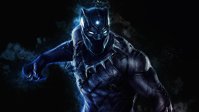 Black Panther wallpaper for Chromebook.