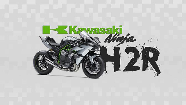 Kawasaki Ninja H2R wallpaper for Chromebook.